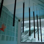 cisinstallation (video loop, tubular bells, birds)