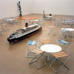 RELATION SHIPInstallation (mit Riktrit Tiravanija and Jorge Pardo), Raum für Kunst, Wien - Museumsquartier