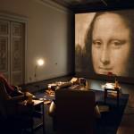 "LA MÈRE PERDUEInstallation – Raum #2 ""La légende"", (Video, Objekte Prints)"