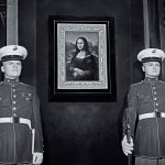 """LA MÈRE PERDUEInstallation – Raum #1 """"Lieux et protagonistes"""", (Print, 141 x 191 cm)"""