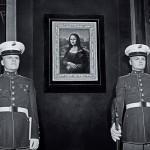"""LA MÈRE PERDUEInstallation – Room #1 """"Lieux et protagonistes"""", (print, 141 x 191 cm)"""