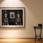 """LA MÈRE PERDUEInstallation – Room #1 """"Lieux et protagonistes"""", (object, print)"""