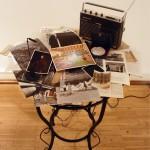 """LA MÈRE PERDUEInstallation – Room #1 """"Lieux et protagonistes"""", (print, object)"""