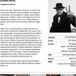 ELMAR HESS (Artist's Monographs)